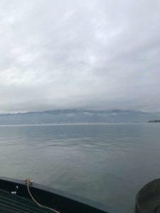 真冬の琵琶湖へ!