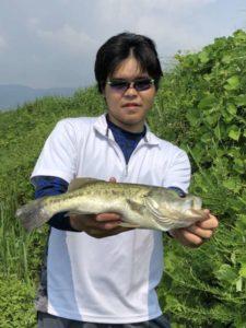 夏の琵琶湖オカッパリ釣行